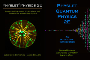 Image of Physlet book covers